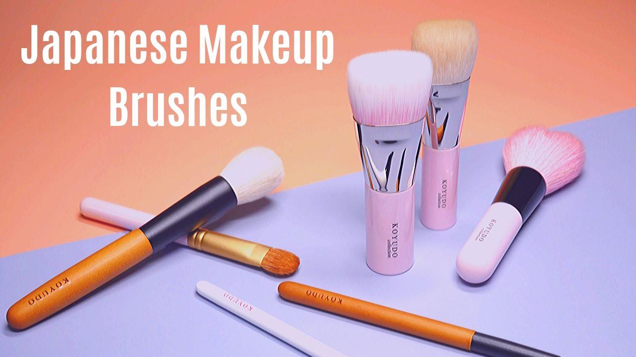 Intro to Japanese Makeup Brushes + Koyudo Brush Review