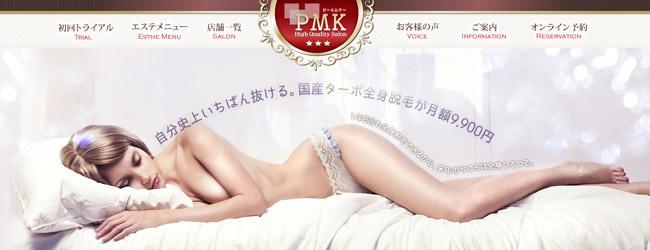 PMK -脱毛の口コミ調査サイト【脱毛レシピ】